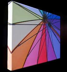 цветная печать в оформлении интерьера